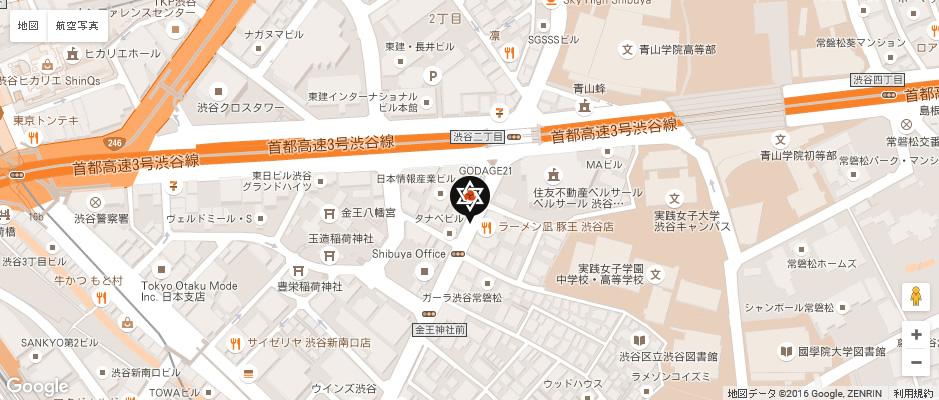 アクセス 渋谷・青山・代官山の空手教室 無拳流空手道_r2_c2